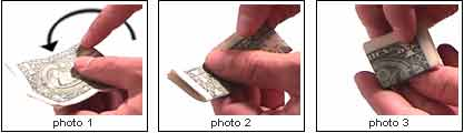 folding bill photo