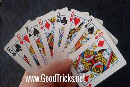 card magic tricks revealed cool card trick secretscard fan flourish