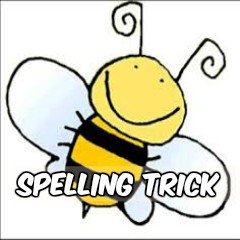 Image for magic spelling trick.